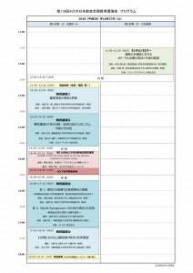 第110回ACCP日本部会定期教育講演会_日程表